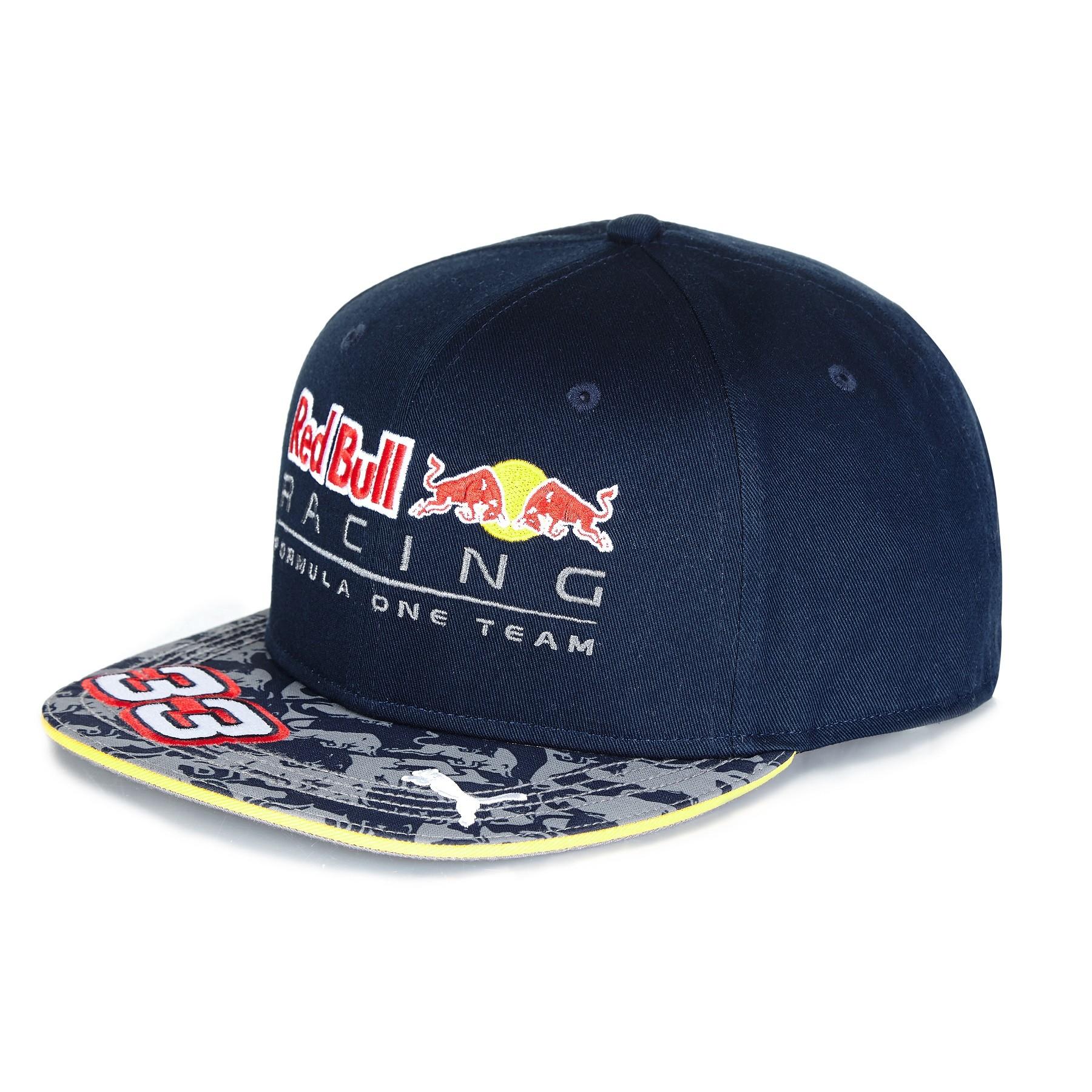 Red Bull Racing 2016 Max Verstappen Cap (Flat Brim)