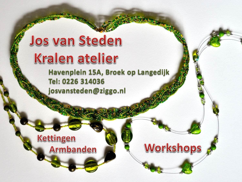 Workshop sieraden maken bij Kralenatelier Jos van Steden